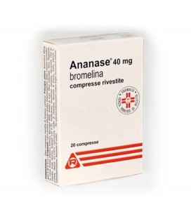 ANANASE 20 COMPRESSE RIVESTITE 40MG