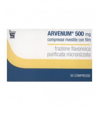 ARVENUM 500 30 COMPRESSE RIVESTITE 500MG Stroder
