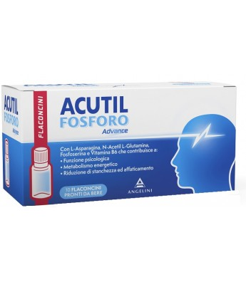 Acutil fosforo advance 10 flaconcini