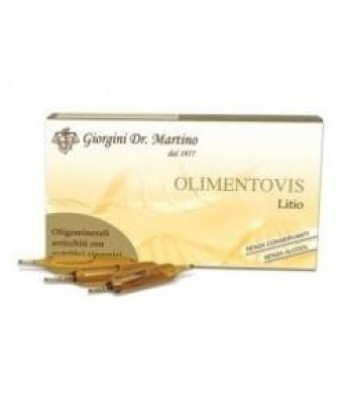 OLIMENTOVIS  8 Litio 30f.2ml
