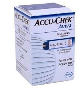 ACCU-CHEK AVIVA 50 STRISCE Roche diabetes care italy