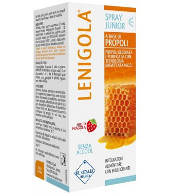 LENIGOLA SPRAY JUNIOR GUSTO FRAGOLA 20 ML