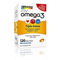 Multicentrum My Omega 3, 120 mini perle
