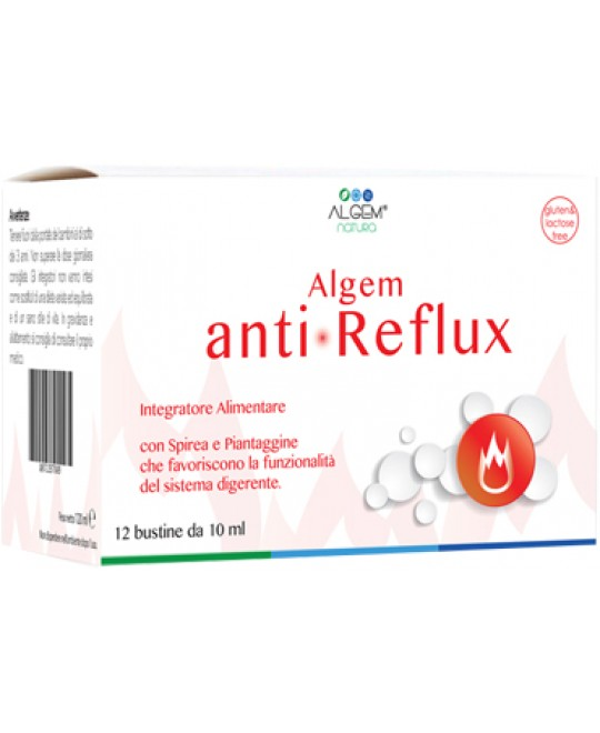 ALGEM ANTI REFLUX 12BUST 10ML