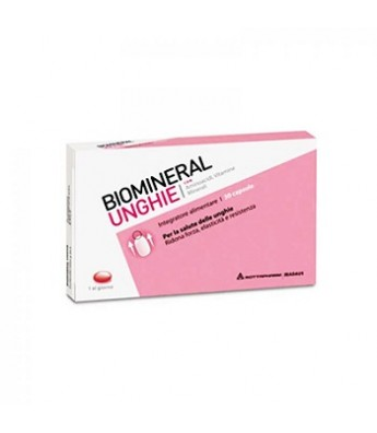 BIOMINERAL Unghie 30 Cps TP