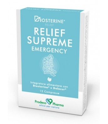 BIOSTERINE RELIEF SUP EME12CPR