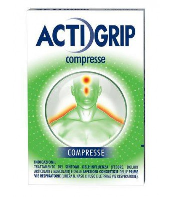 ACTIGRIP 12 COMPRESSE Johnson & johnson