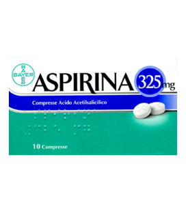 ASPIRINA 10 COMPRESSE 325MG Bayer