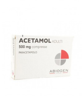ACETAMOL ADULTI 20 COMPRESSE 500MG