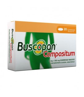 BUSCOPAN COMPOSITUM 20 Compresse Rivestite Boehringer ingelheim it