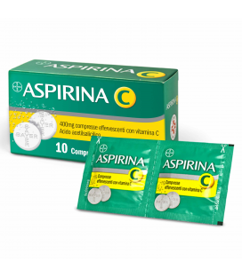 ASPIRINA C 10 COMPRESSE EFFERVESCENTI 400+240MG Bayer