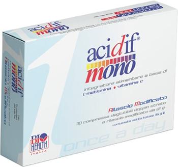 Acidif mono integratore alimentare 30 compresse