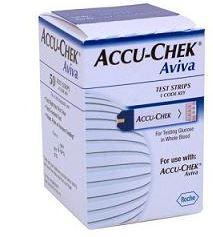 ACCU-CHEK AVIVA 50 STRISCE Roche diabetes care italy