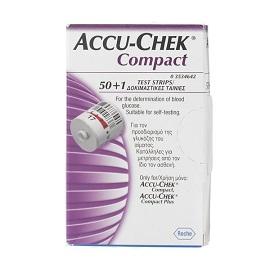 Accu-chek compact 50+1 strisce reattive