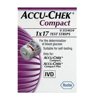 ACCU-CHEK COMPACT 17 STRISCE Roche diabetes care italy