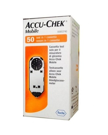 Accu-Check Mobile Tests 50 Pezzi